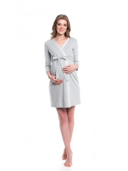 Комплект: халат + ночная сорочка для кормления NewForm