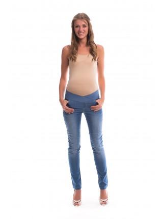 Джинсы для беременных с заниженной вставкой для беременных