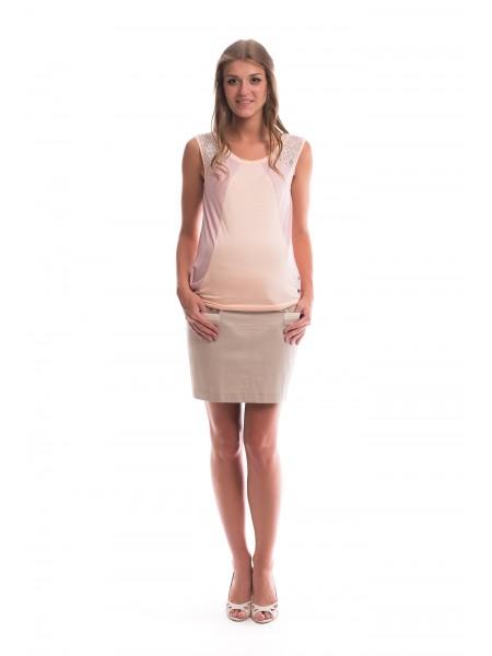 Майка розовая для беременных NewForm