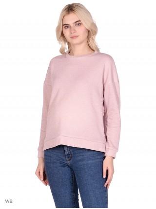 Джемпер розовый  для беременных и кормящих