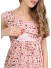Платье цветное для беременных и кормящих