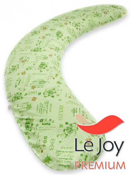 Подушка для беременных Premium зеленая
