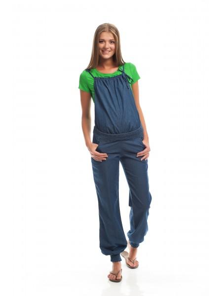 Комбинезон джинсовый (трансформер) для беременных