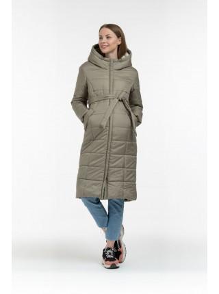 Пальто зимнее хаки  для беременных