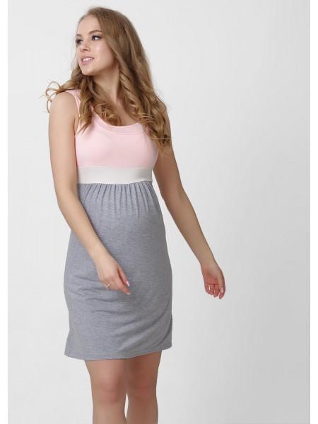 Платье трикотажное для беременных и кормящих
