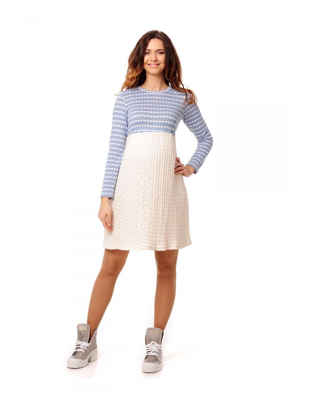 8c320f30f65e Платье комбинированное для беременных