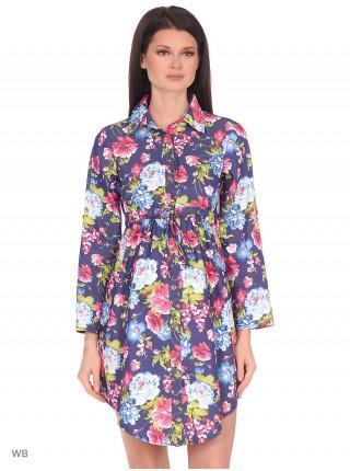 Платье-рубашка  для беременных и кормящих