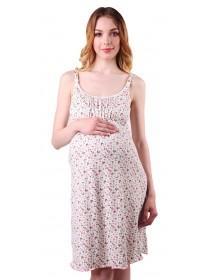 Ночная сорочка цветной принт для беременных и кормящих