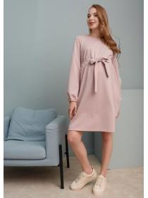 Платье розовое для беременных