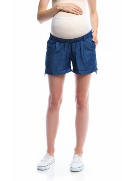 Шорты синие для беременных