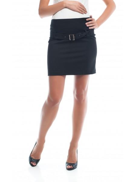 Юбка черная классического силуэта NewForm