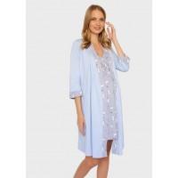 Комплект: халат + ночная сорочка для кормления