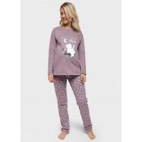 Пижама утепленная для беременных и кормящих
