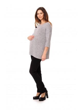 Блузка серый меланж NewForm