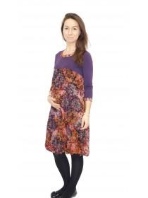 Платье для беременных фиолетовое  NewForm