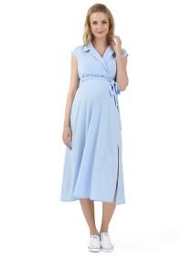 Платье длинное голубое  I'L'M