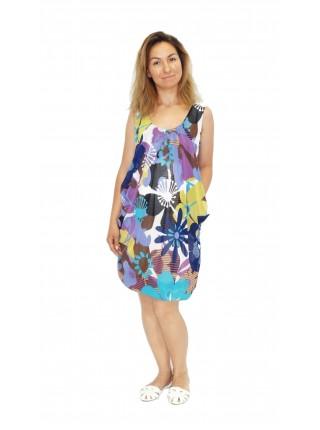 Платье цветное для беременных
