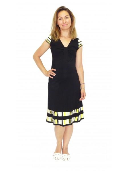 Платье черное для беременных