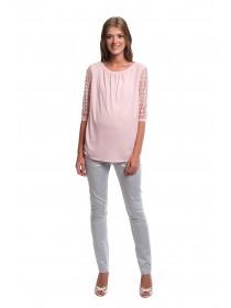 Блузка для беременных розовая NewForm
