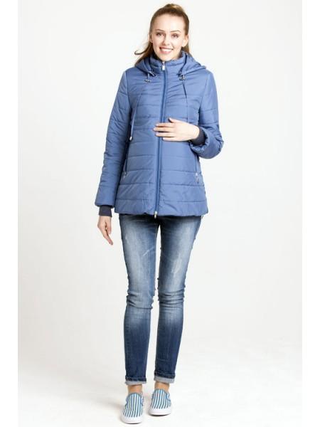 Куртка демисезонная синяя для беременных ... e8005744295